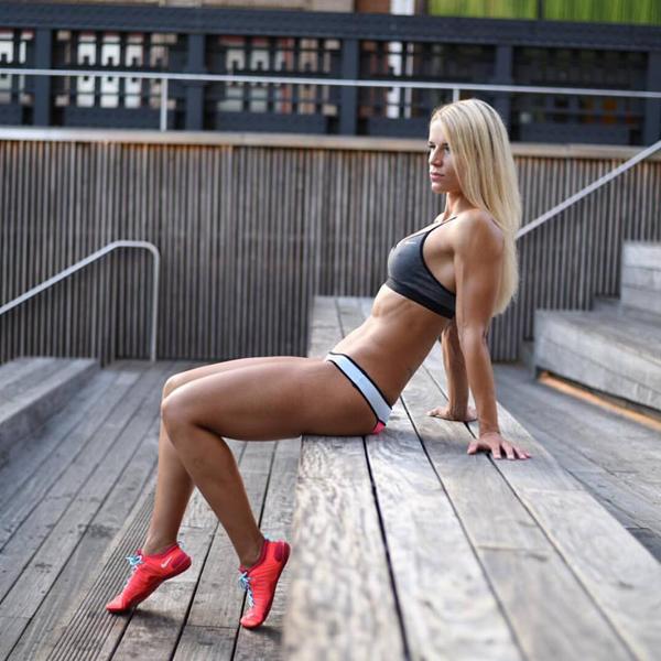 bikini athletin ernährungsplan