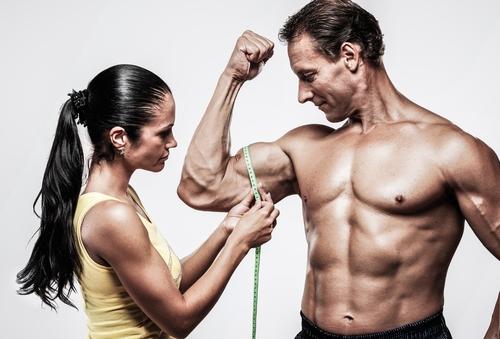 Körpermaße im Bodybuilding machen